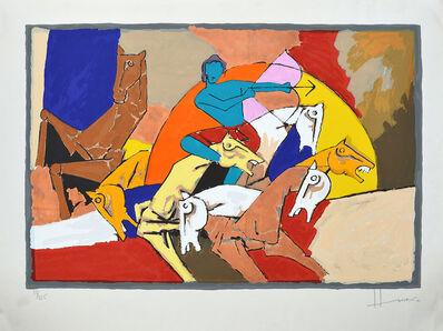 Maqbool Fida Husain, 'Arjun', 2003