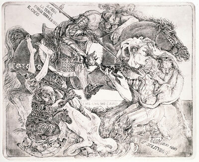 Traian Filip, 'The Chaos', 1985