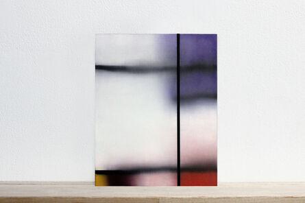 "Martí Cormand, 'Postcards to AZ: ""Farbige Aufteilung (1928)"", Piet Mondrian. Location unknown, num 4', 2017"