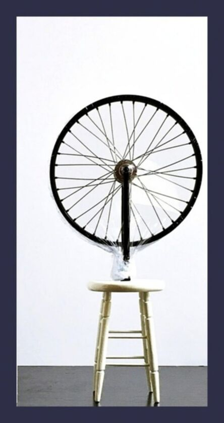 """Marcel Duchamp, 'Bicycle Wheel Sculpture (Limited Edition 9"""" Working Replica Exclusively for the Philadelphia Museum of Art)', 2002"""