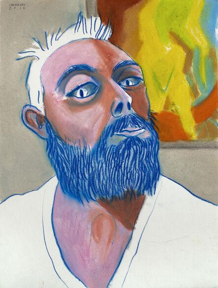 Eduardo Sarmiento, 'Self-Portrait in Front of Picasso', 2016