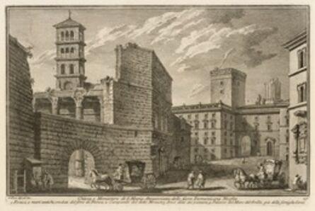 Giuseppe Vasi, 'Chiesa e monastero di S. Maria Annunziata, delle suore domenicane neofite', 1747-1801