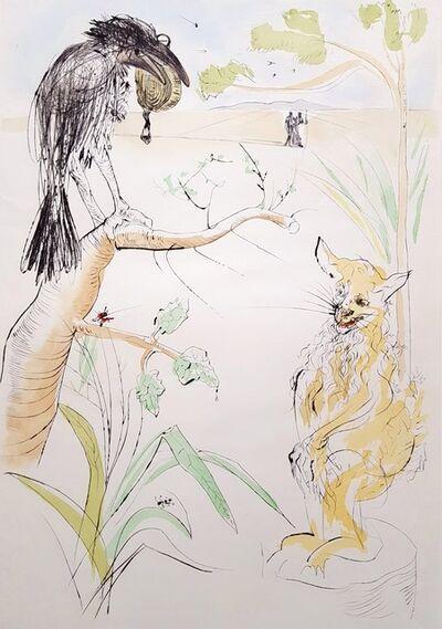 Salvador Dalí, 'Le Corbeau et le Renard (The Raven and the Fox)', 1974