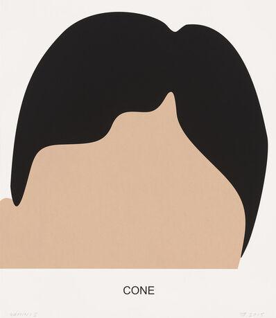 John Baldessari, 'Cone', 2016