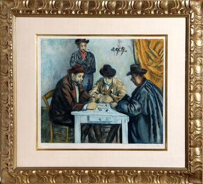 Paul Cézanne, 'Les Joueurs des Cartes (The Card Players)', 1929