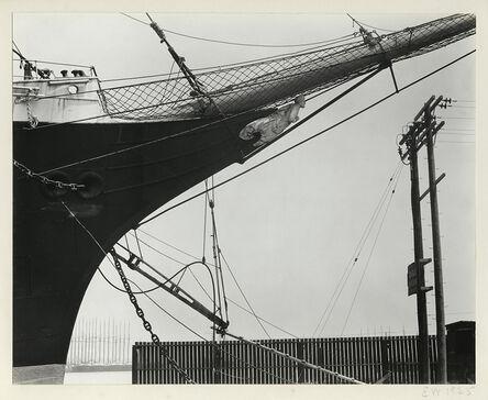 Edward Weston, 'Boats, San Francisco', 1925