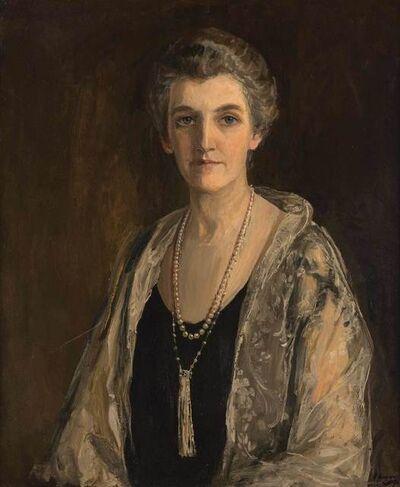 Sir John Lavery, 'Portrait of Mrs. John Francis McGuire', 1926