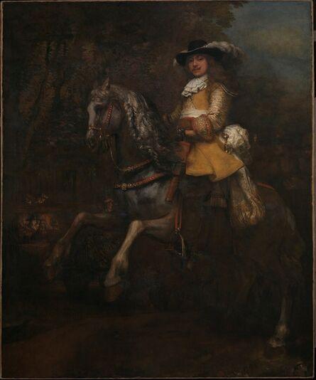 Rembrandt van Rijn, 'Portrait of Frederick Rihel on Horseback', probably 1663
