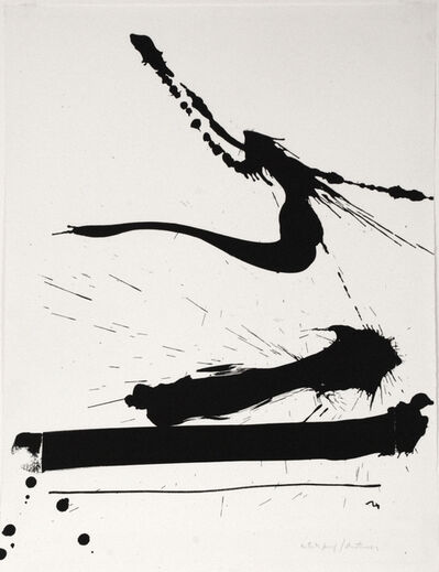 Robert Motherwell, 'Automatism A', 1966