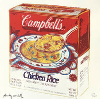 Andy Warhol, 'Campbell's Soup Box (Chicken Rice) ', 1986