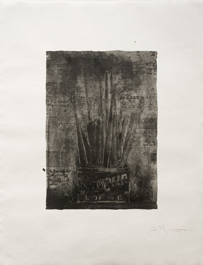 Jasper Johns, 'Savarin 1 (Cookie)', 1978