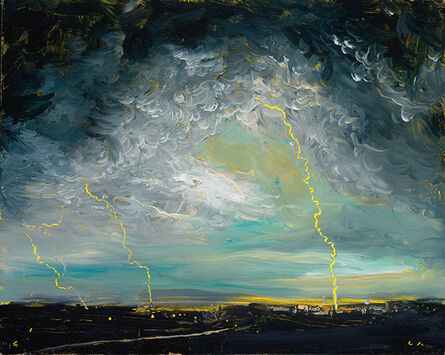 Chester Arnold, 'Written in the Storm', 2015