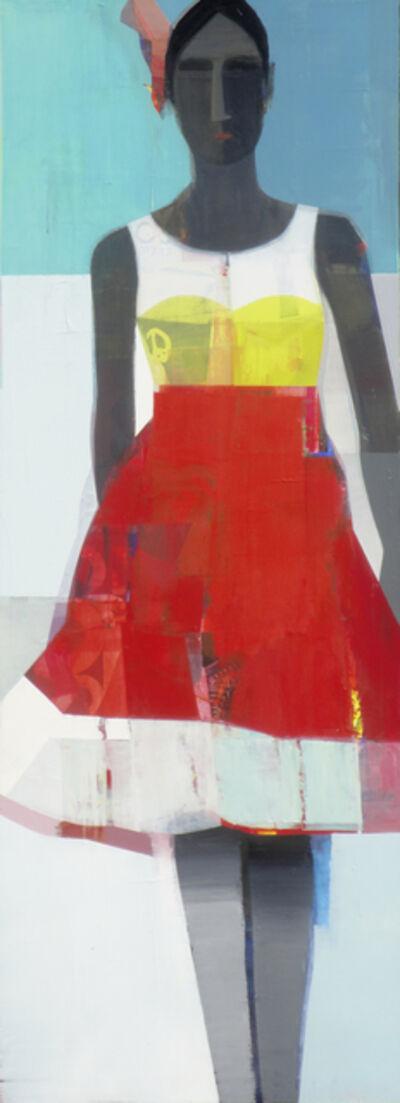Suhas Bhujbal, 'Red Dress', 2016