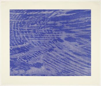 Franz Gertsch, 'Triptychon Schwarzwasser (Detail I, form the right wing)', 1997