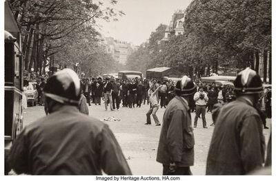 Bruno Barbey, 'Student Riots in Paris'