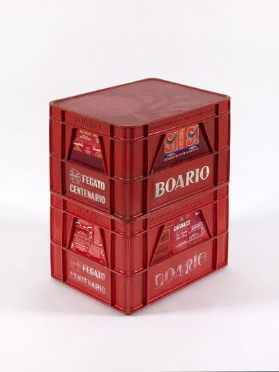 Flavio Favelli, 'Red Boario', 2015