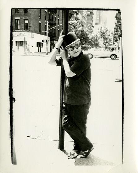 Andy Warhol, 'Truman Capote on Street Lamp', 1977