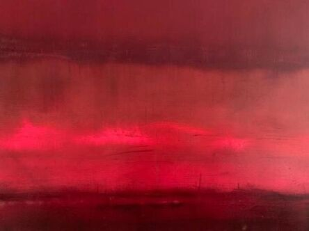 Paul Hughes, ''Falling Red', from 'Somewhere Between Two Worlds' series ', 2019