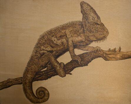 Alexander Kuhn, 'Blending in - Chameleon'