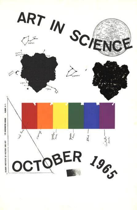 Jim Dine, 'Art in Science', 1965