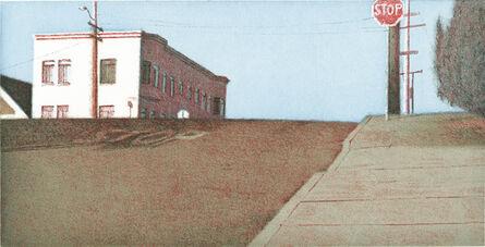 Robert Bechtle, 'Potrero Intersection–Blue Sky', 2002