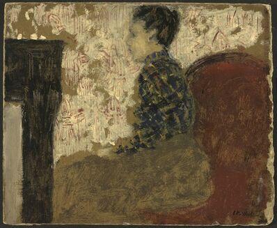 Édouard Vuillard, 'Woman Sitting by the Fireside', ca. 1894