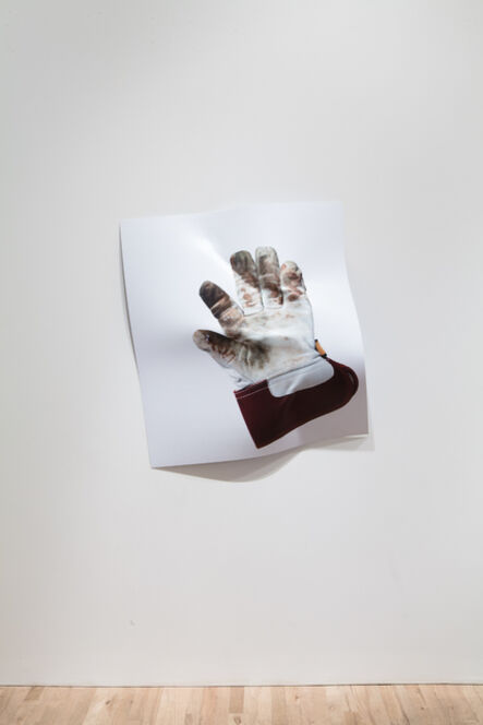 Eva and Franco Mattes, 'Agreement #2 (Leather Glove)', 2014
