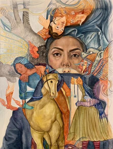 Bahar Sabzevari, 'Whispers', 2020