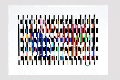 Yaacov Agam, '2x3=4', 1980s