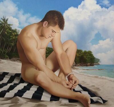 Wes Hempel, 'PRIVATE ISLAND, Mid Day Swim', 2019