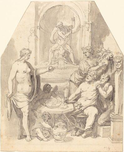 Johann Matthias Kager, 'Without Ceres and Bacchus, Venus Freezes', 1590s