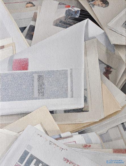 Ibrahim El Dessouki, 'Newspapers 9', 2020