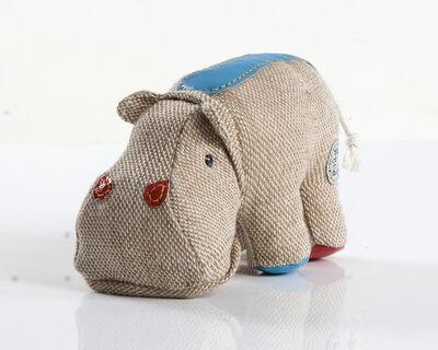"Renate Müller, 'Miniature ""Therapeutic Toy"" Hippopotamus', 1969/2012"