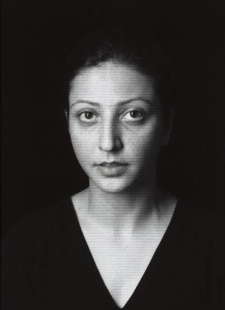 Shirin Neshat, 'Negin (Masses), from The Book of Kings series', 2012