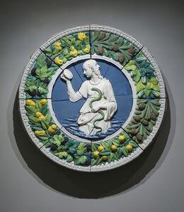Andrea della Robbia, 'Prudence (in situ)', ca. 1475