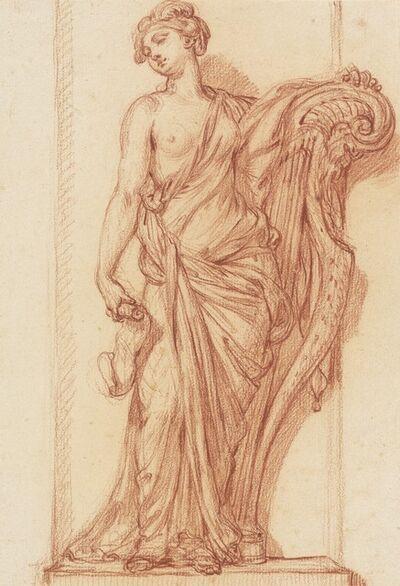 Augustin Pajou, 'The Muse Terpsichore', ca. 1768