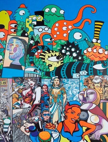 Erró, 'Octopus', 2000