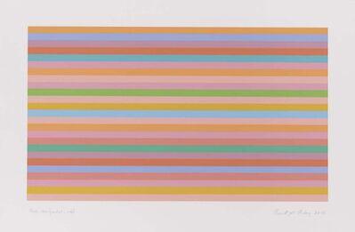 Bridget Riley, 'Rose Horizontal (The British Riley Art Foundation BRS 91)', 2018