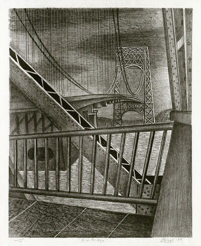Leon Bibel, 'G. W. Bridge', 1938