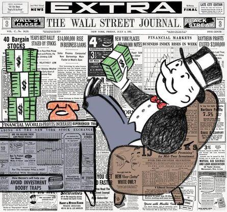 Nelson De La Nuez, 'Wall Street Banker', 2019