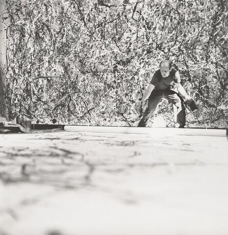Hans Namuth, 'Jackson Pollock', 1950