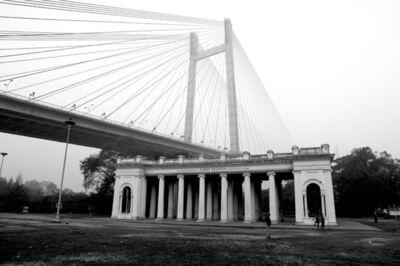 Prabir Purkayastha, ''Past & Present' #1, Prinsep Ghat, Calcutta', 2009