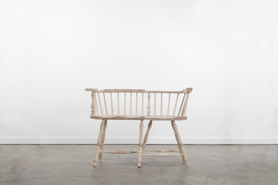 Norman Kelley, 'Two Place Low-Back Settee', 2013