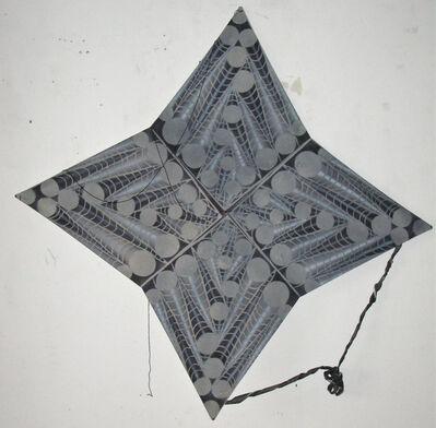 Francisco Toledo, 'Cometa abstracta de cuatro estrellas en gris', 2010
