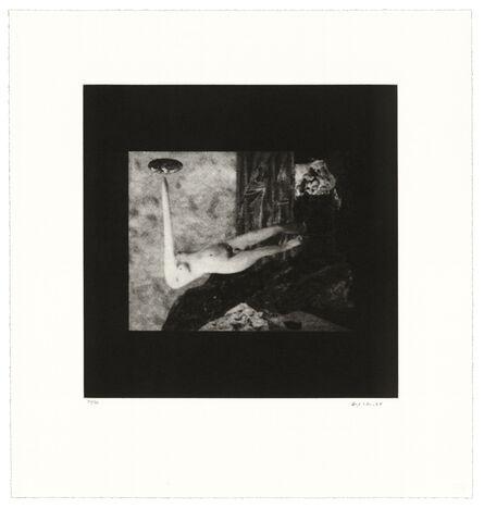 David Lynch, 'Distorted Nude Photogravure #8', 2021