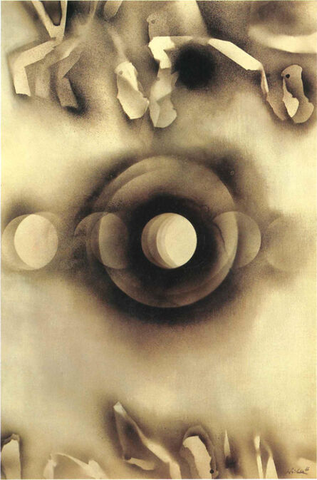 Hideko Fukushima, 'Black White Spray', 1966