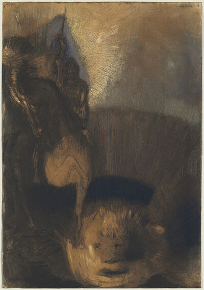 Odilon Redon, 'Saint George and the Dragon', 1880s and c. 1892
