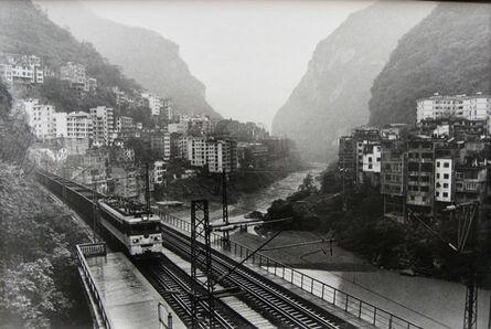 Wu Jialin, 'The Neijiang Kunming Railroad Extending Through the County Town Underground, Yanjin', 2007