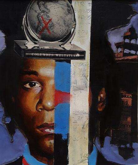 Adam Caldwell, 'Basquiats Travel', 2018