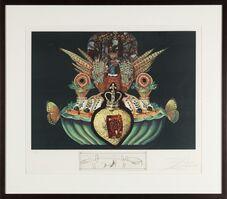 Salvador Dalí, 'Monarchial Flesh Tone (Les Chairs Monarchiques)', 1971
